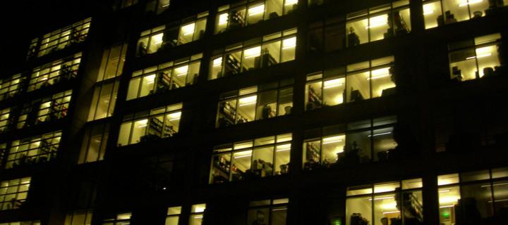 Cesta k úspěchu: Pracujte i v noci