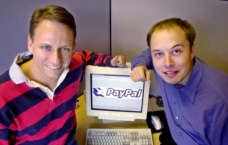 PAYPAL THIEL MUSK